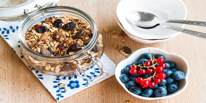 ap blog snacking on fruit granola breakfast