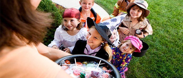 Tips and tricks for a healthier Halloween trick or treaters