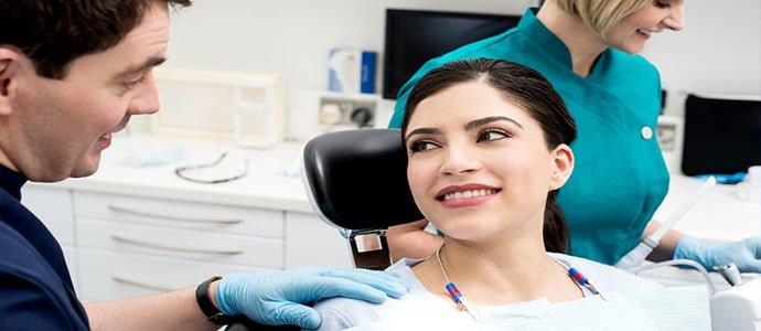 dentist patient in chair