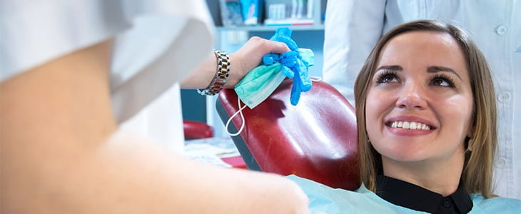 Routine dental appointment