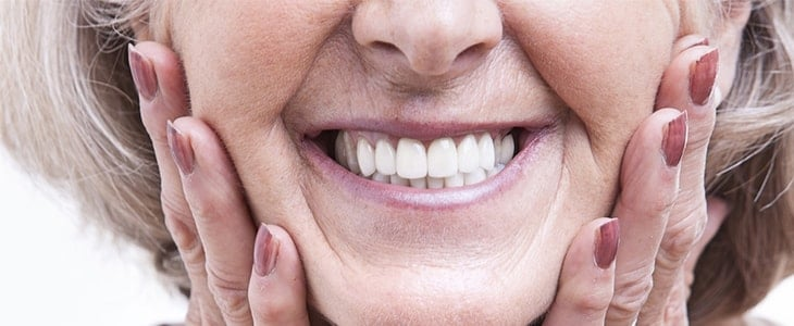 dentures improve smiles