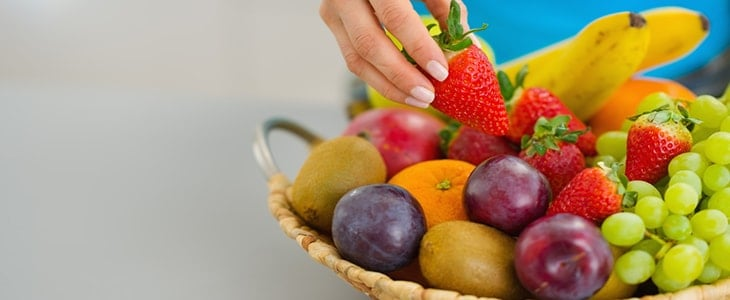 swapping sugar for fruit