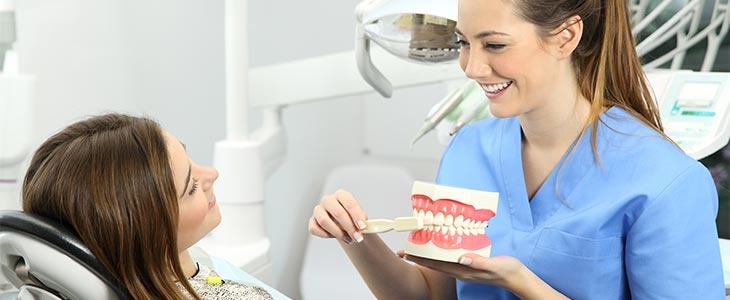speak to your dentist