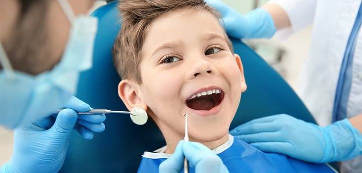 child ready to see the dentist