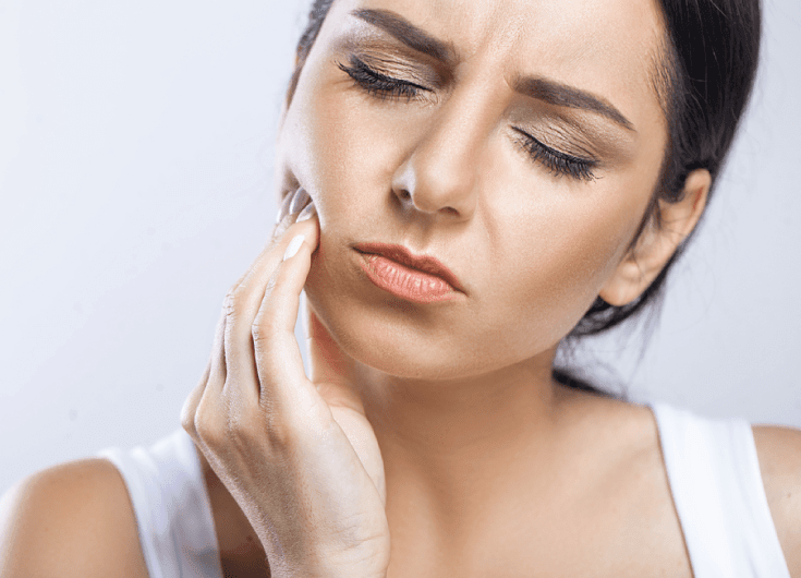 tooth pain from bad teeth whitening