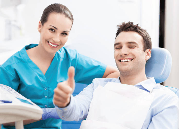 man removed wisdom teeth