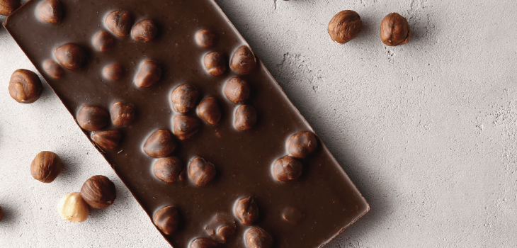 nutty chocolate