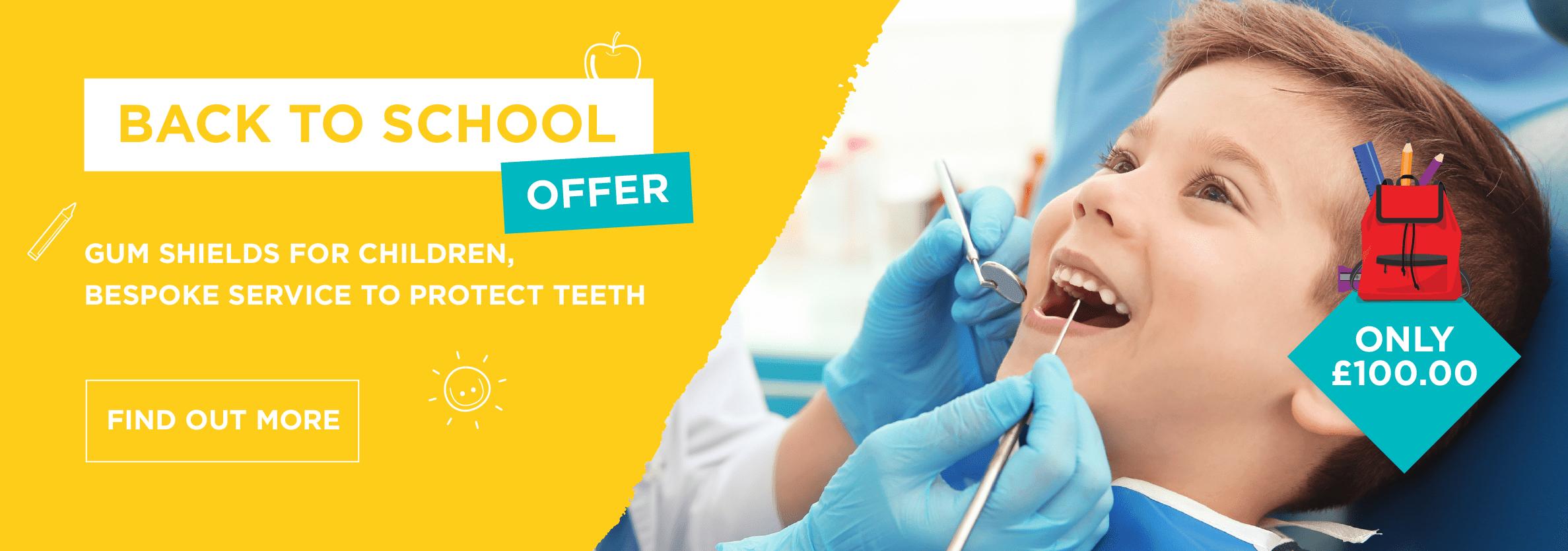 Children's sport mouthguard offer!