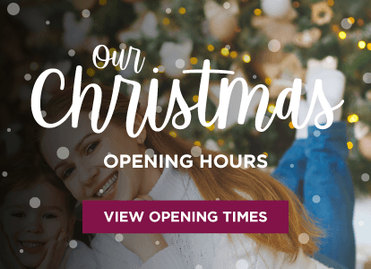Out Christmas Opening Times
