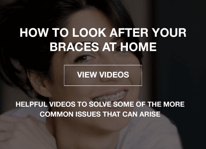 How to look after your braces at home