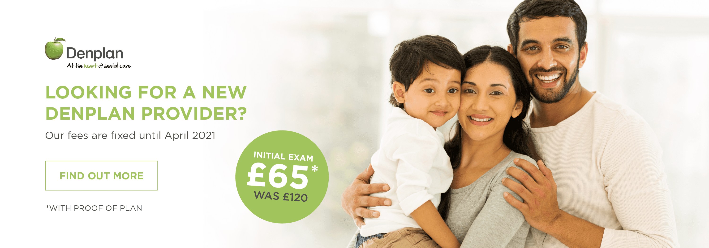 Looking for a new denplan provider?