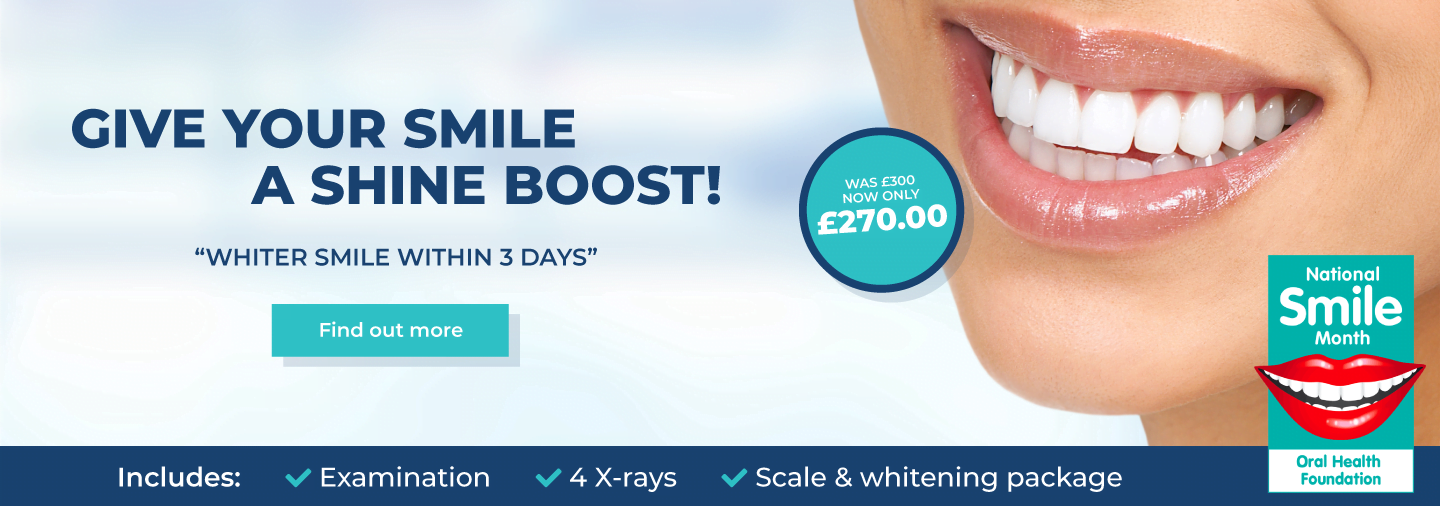 Give Your Smile A Shine Boost!